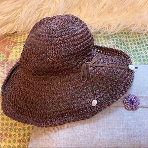 """NWT Michael Stars """"Seagrass Crusher"""" packable hat"""